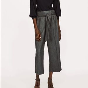 Zara High waisted Belted Culottes